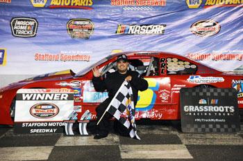Stafford Speedway 9-20-19 winner Zack Robinson