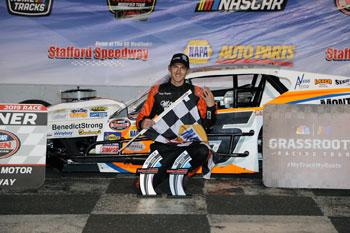 Stafford Speedway 9-20-19 Stafford Speedway 9-20-19 winner Zack Robinson