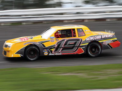 2019 Street Stock Rookie of the Year Adrien Paradis, III