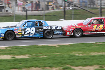 Wild thing karts drives dare stock division stafford for Stafford motor speedway schedule