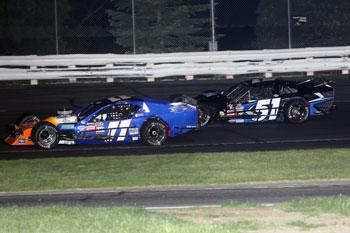 Stafford Sk Modified 174 Rookie Race Locked In 3 Way Tie Stafford Motor Speedway