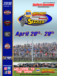Spring Sizzler Program Cover