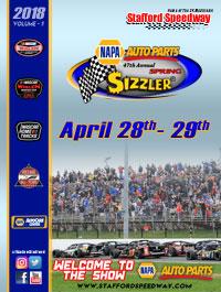Spring Sizzler Program Cover