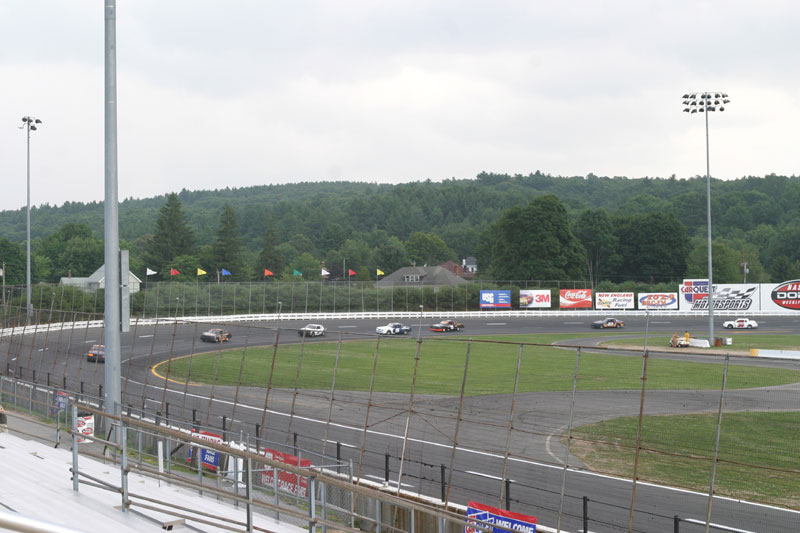 Main Grandstand Gold Left View