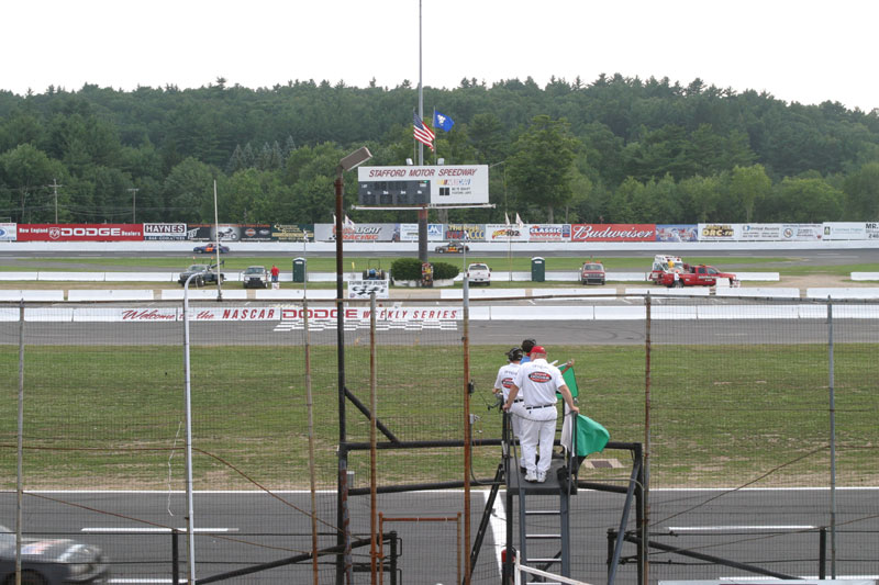 Main Grandstand Gold Center View