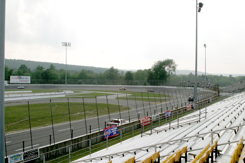 Main Grandstand Gold Right View