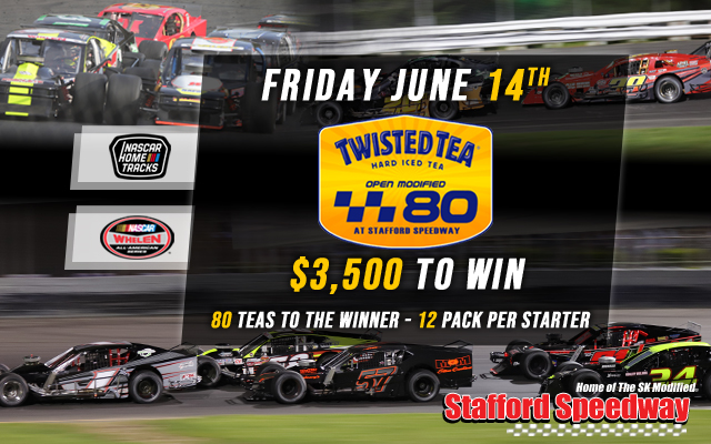 June 14, 2019 Twisted Tea 80 SK Light Feature Results - Stafford